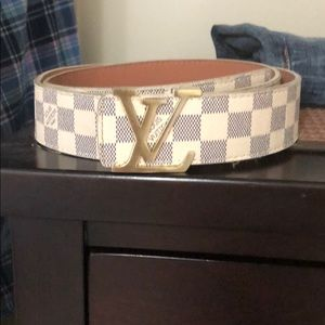 Louis Vuitton Belt (White)